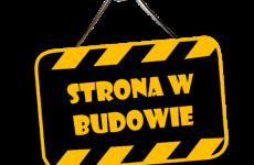 tabliczka z napisem strona w budowie