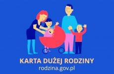 Więcej o: Zmiana formularza wniosku o Kartę Dużej Rodziny